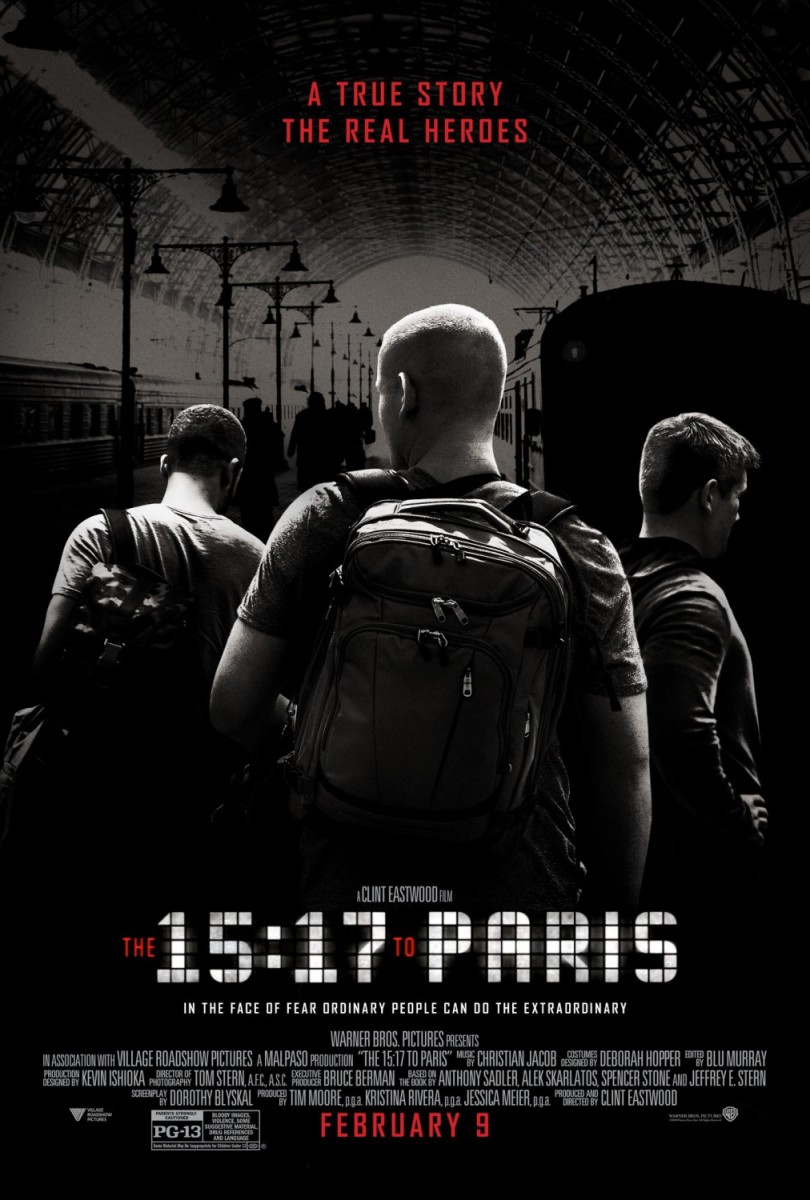 The 15:17 to Paris: Movie Review