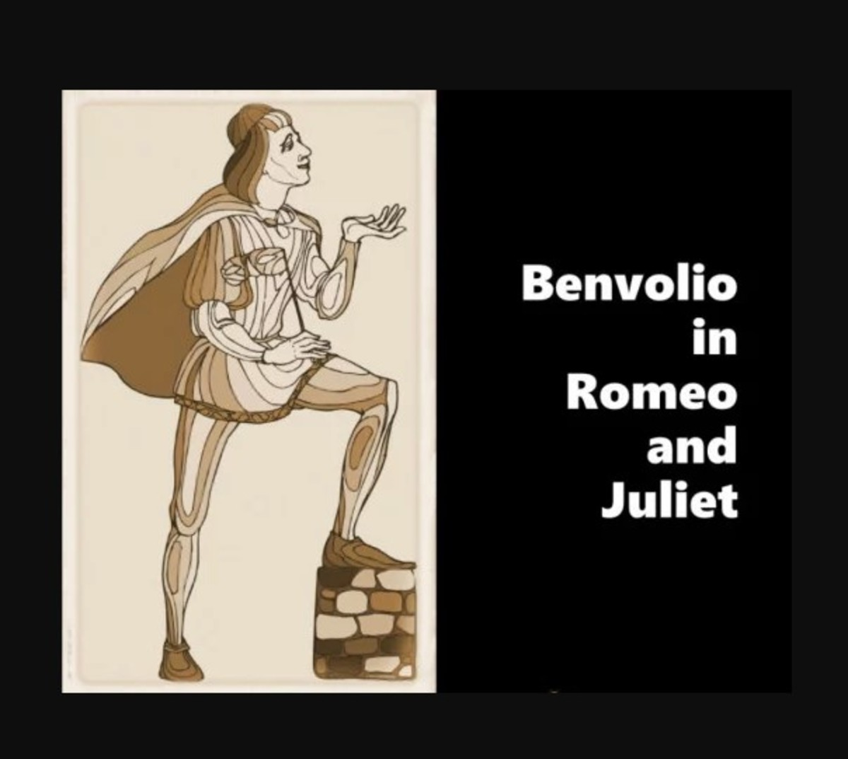 Benvolio in Romeo and Juliet: Character Analysis and Description