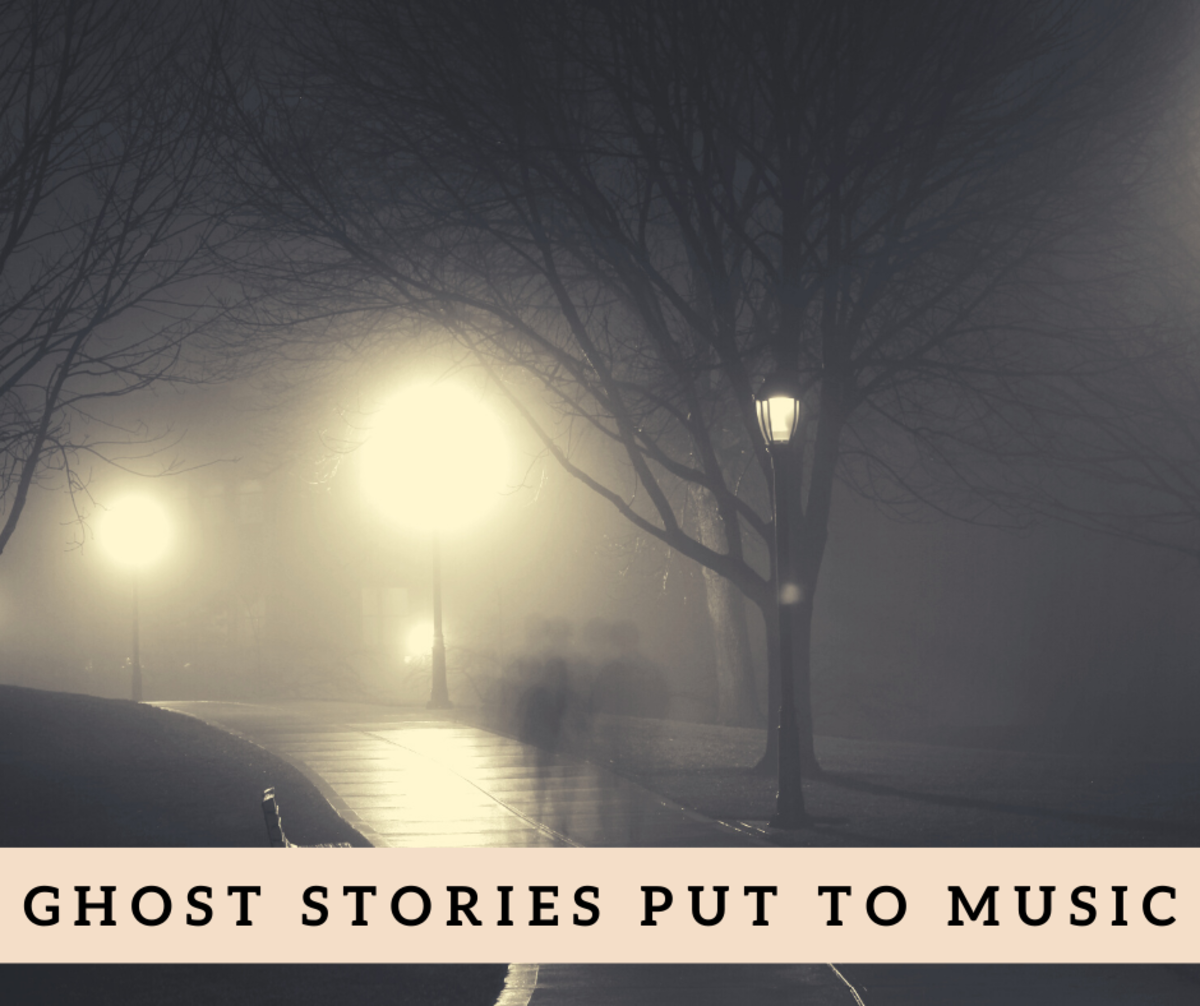 Everyone loves a good ghost story. Putting them to music makes them even better.