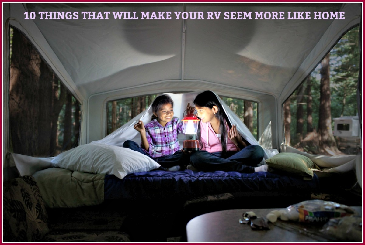 10 Things That Will Make Your RV Feel More Like Home
