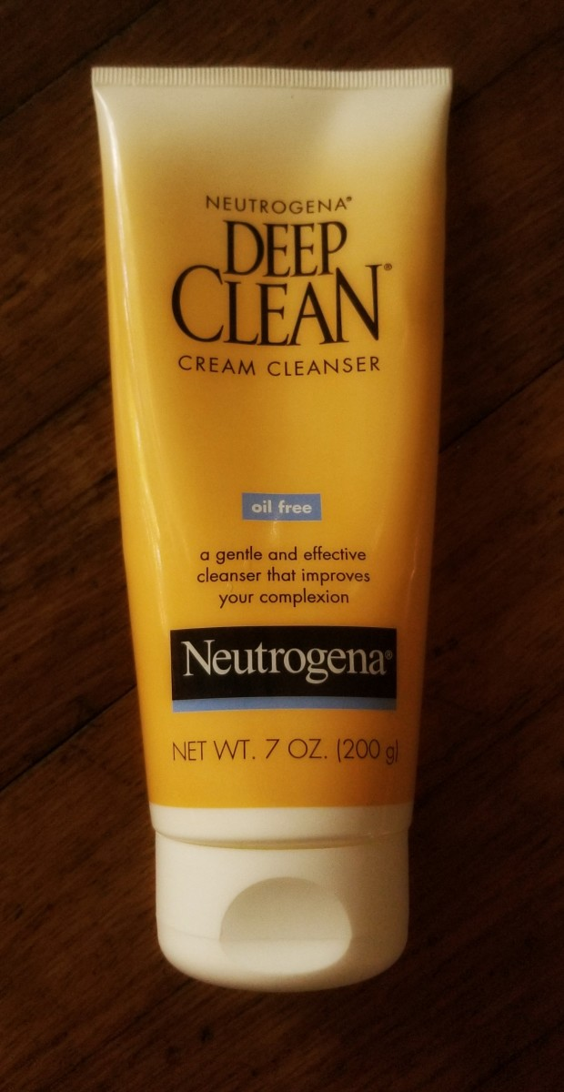 Neutrogena Deep Clean Cream Cleanser is my favorite for fresh, clean skin.