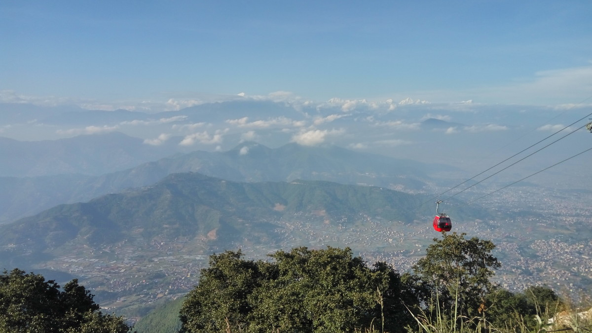 View from Chandragiri Hill, Kathmandu