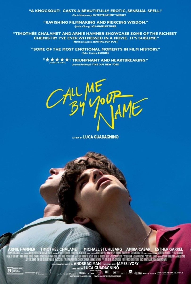 Elio's Memorable Summer Of 1983: Call Me By Your Name