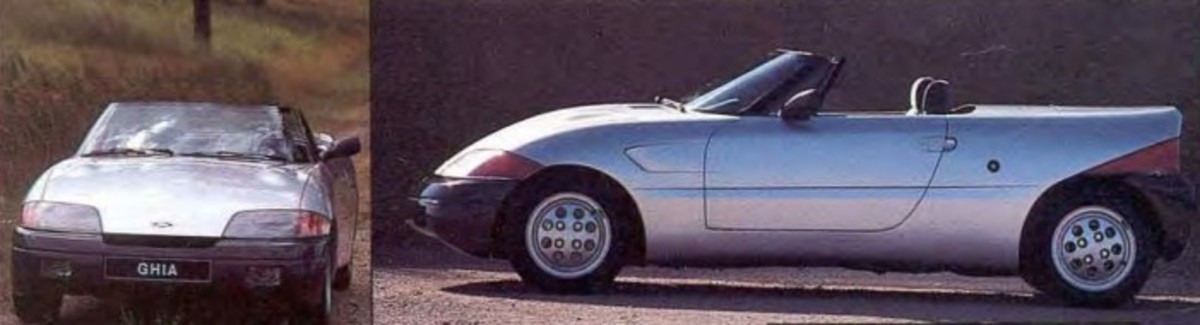 The Ford Ghia Barchetta That Became a Mercury Capri