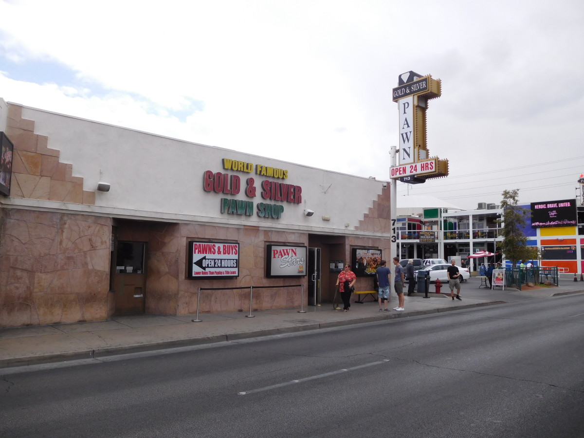 The Gold and Silver Pawn Shop in Las Vegas, Nevada