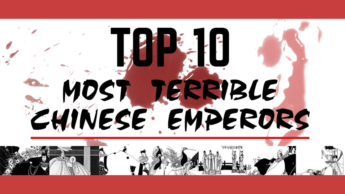 Be glad you didn't live under any of these terrible Chinese emperors.