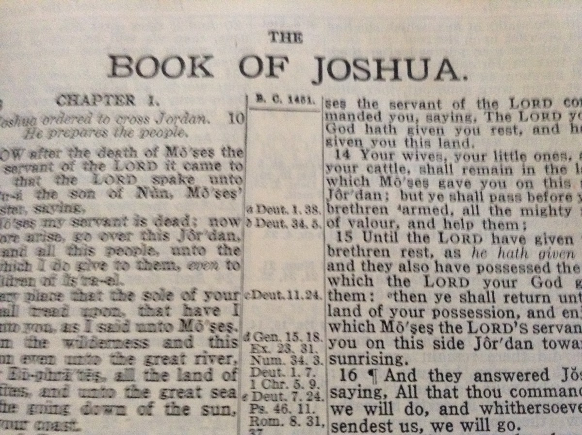 The Troubling Implications of the Book of Joshua