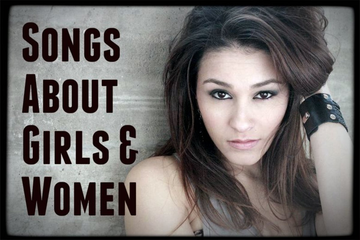 102 Songs About Girls and Women