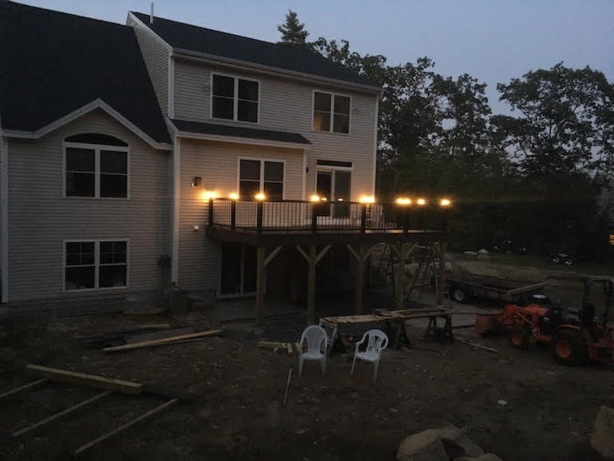 Eddie's earnings from HubPages have helped support his home improvement projects, like this deck.
