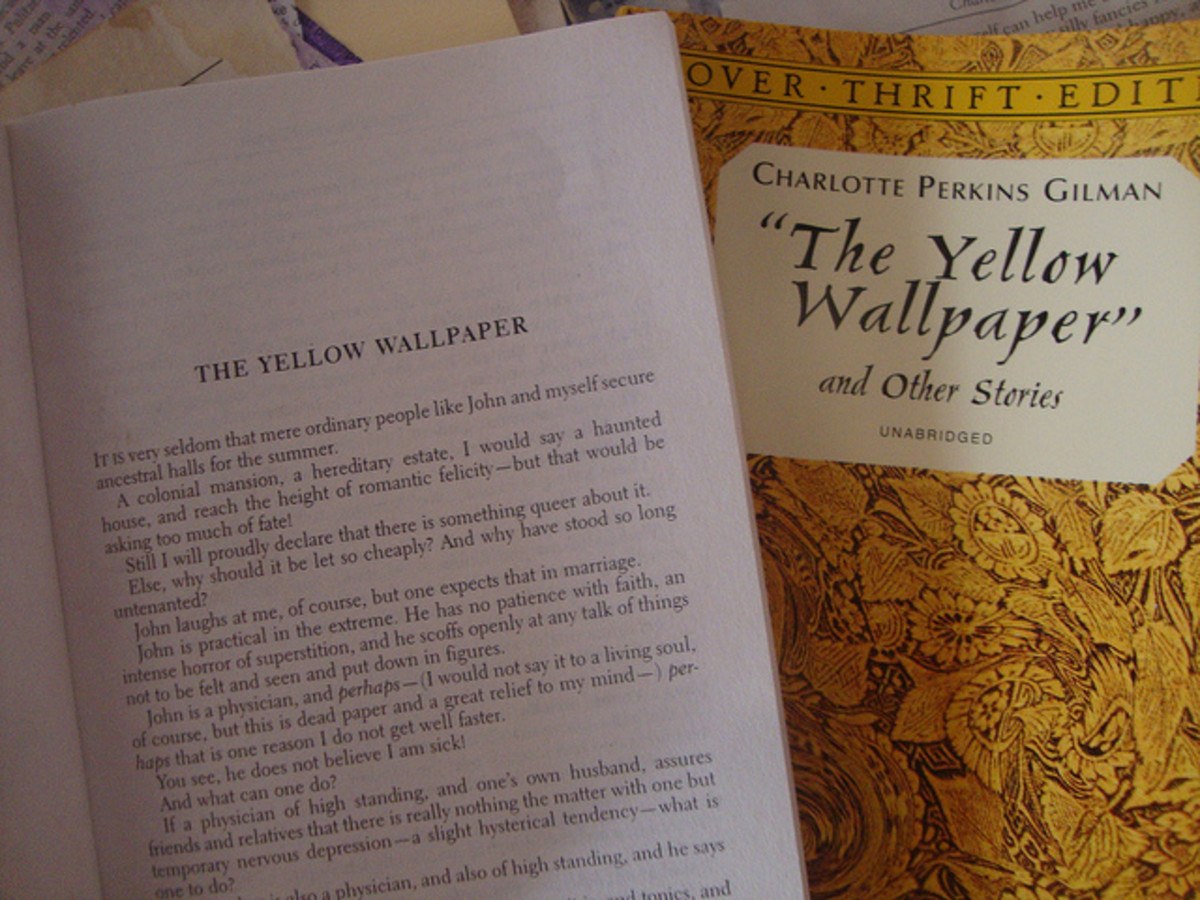 the yellow wallpaper a womens diagnosis  owlcation an incorrect diagnosis the yellow wallpaper