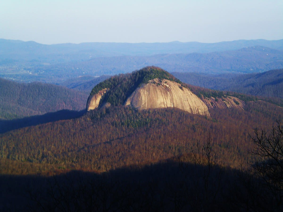 Looking Glass Rock Hike (NC)