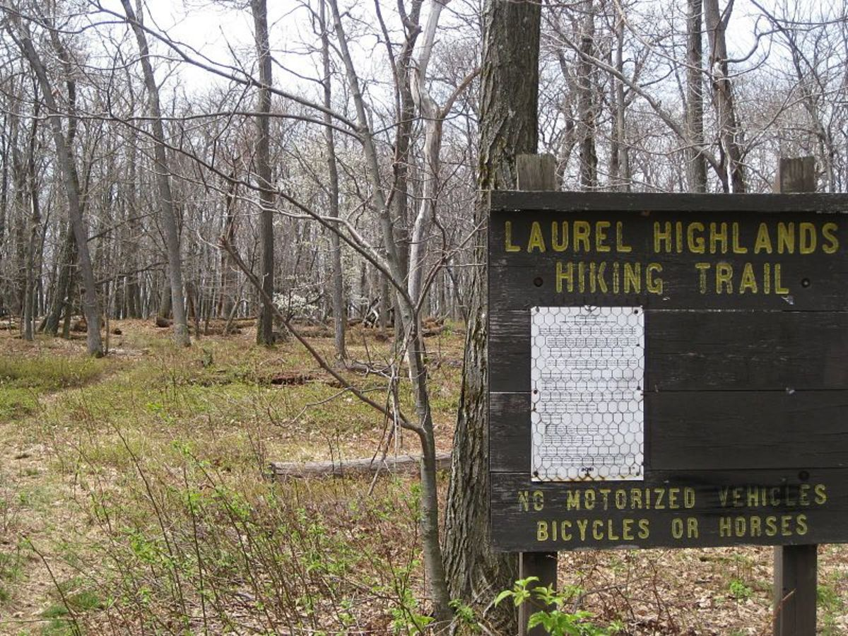 Backpacking Pennsylvania's Laurel Highlands Hiking Trail