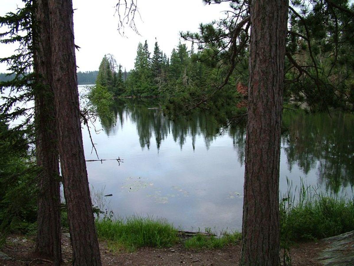 Snowbank Lake on the Kekekabic Trail in Minnesota's Boundary Waters Canoe Area Wilderness