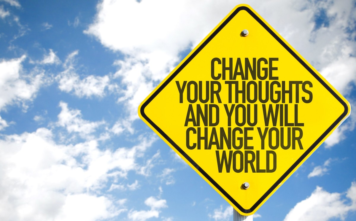 We can change our mindset with positive thoughts and words