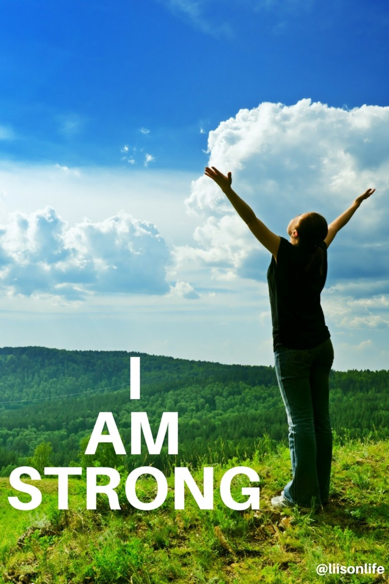 """Repeating a  simple """"I AM strong"""" health mantra can help you shift your mindset"""