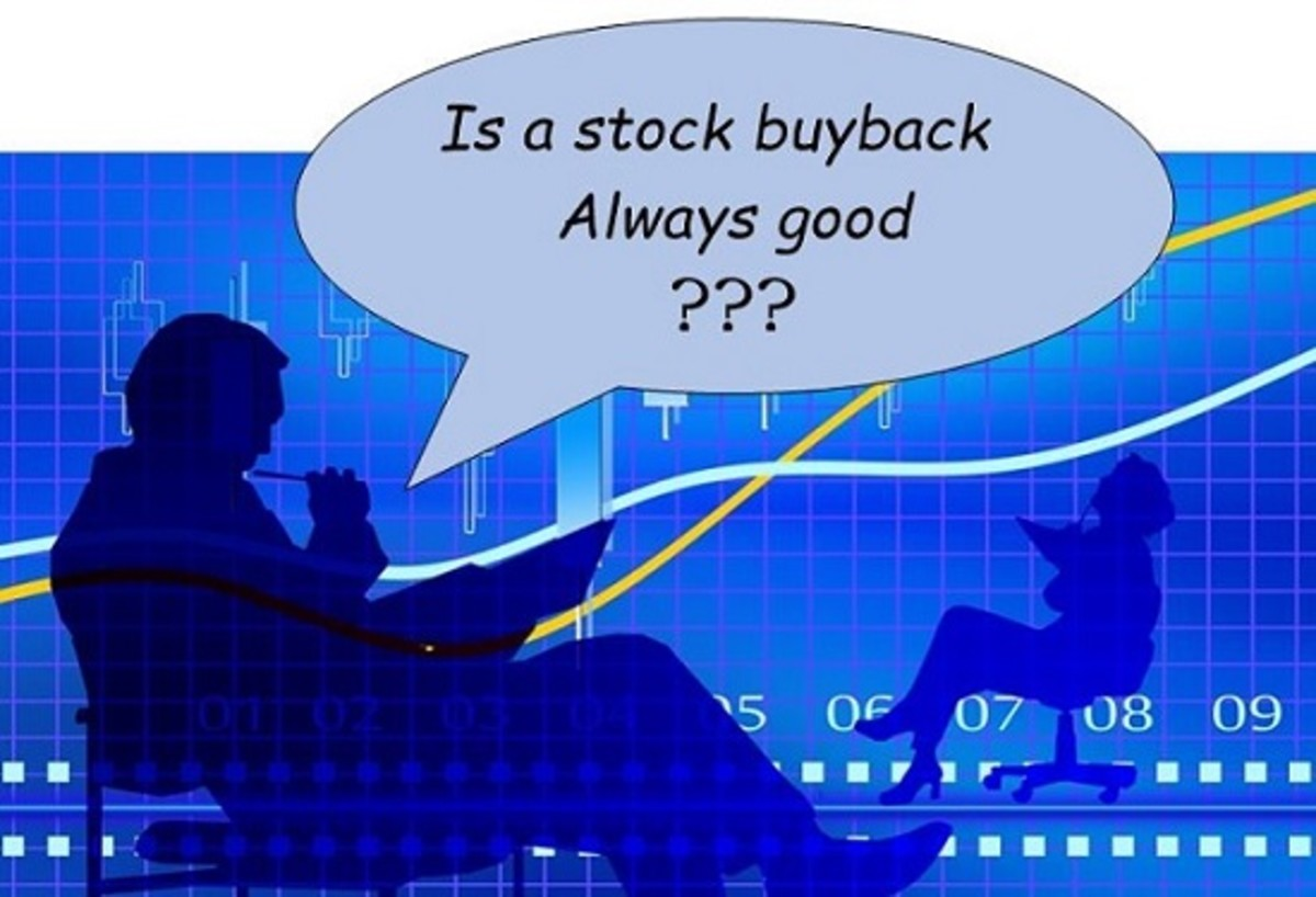 Stock buybacks may have benefits and disadvantages
