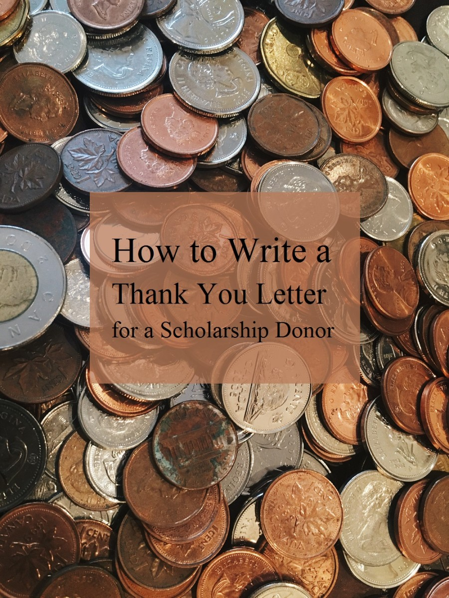 How to Write a Thank You Letter for a Scholarship Donor