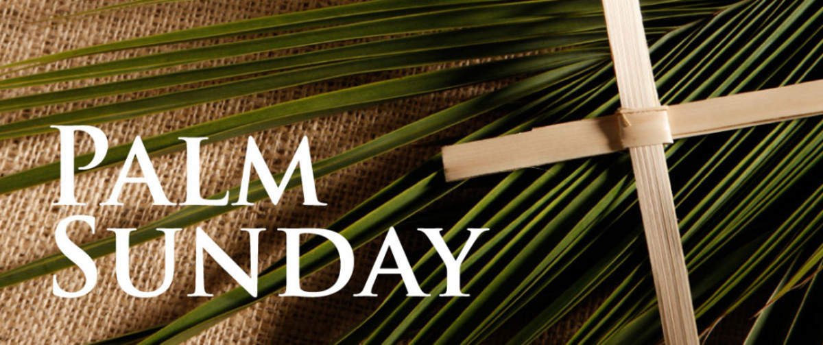 Palm Sunday always comes on the Sunday before Easter.