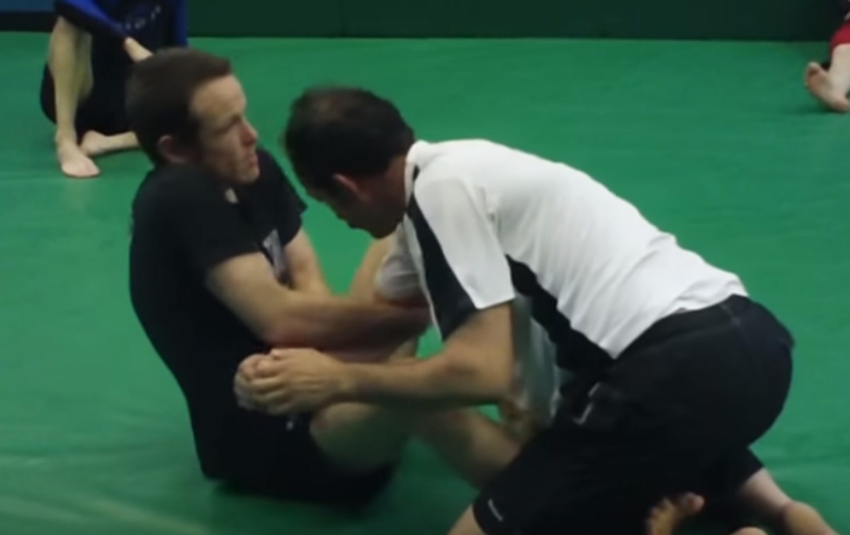 How to Arm Drag From Butterfly Guard