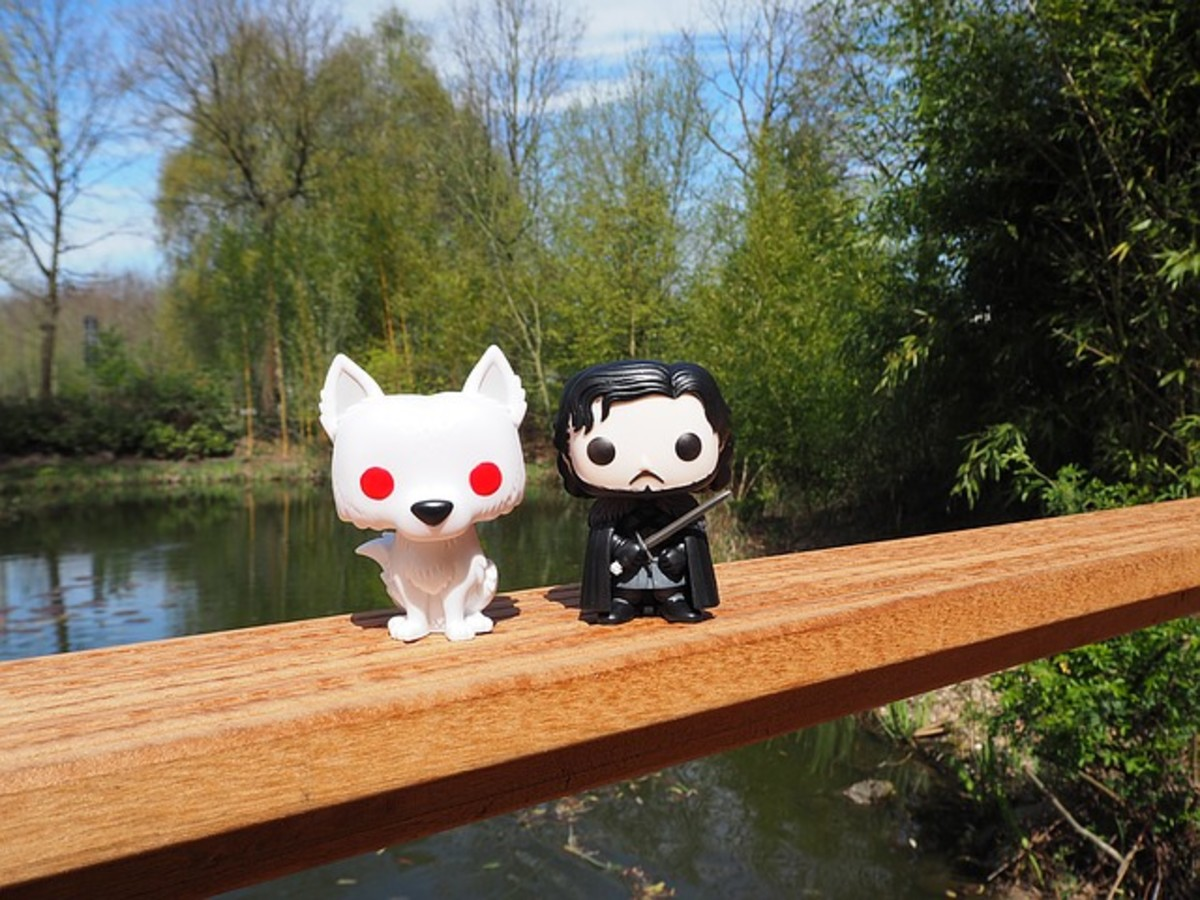 Funko of Snow and John