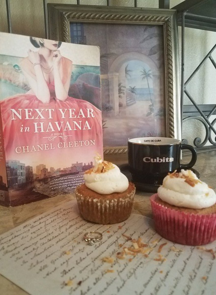"""Next Year in Havana"" Book Discussion and Tropical Cupcakes Recipe"