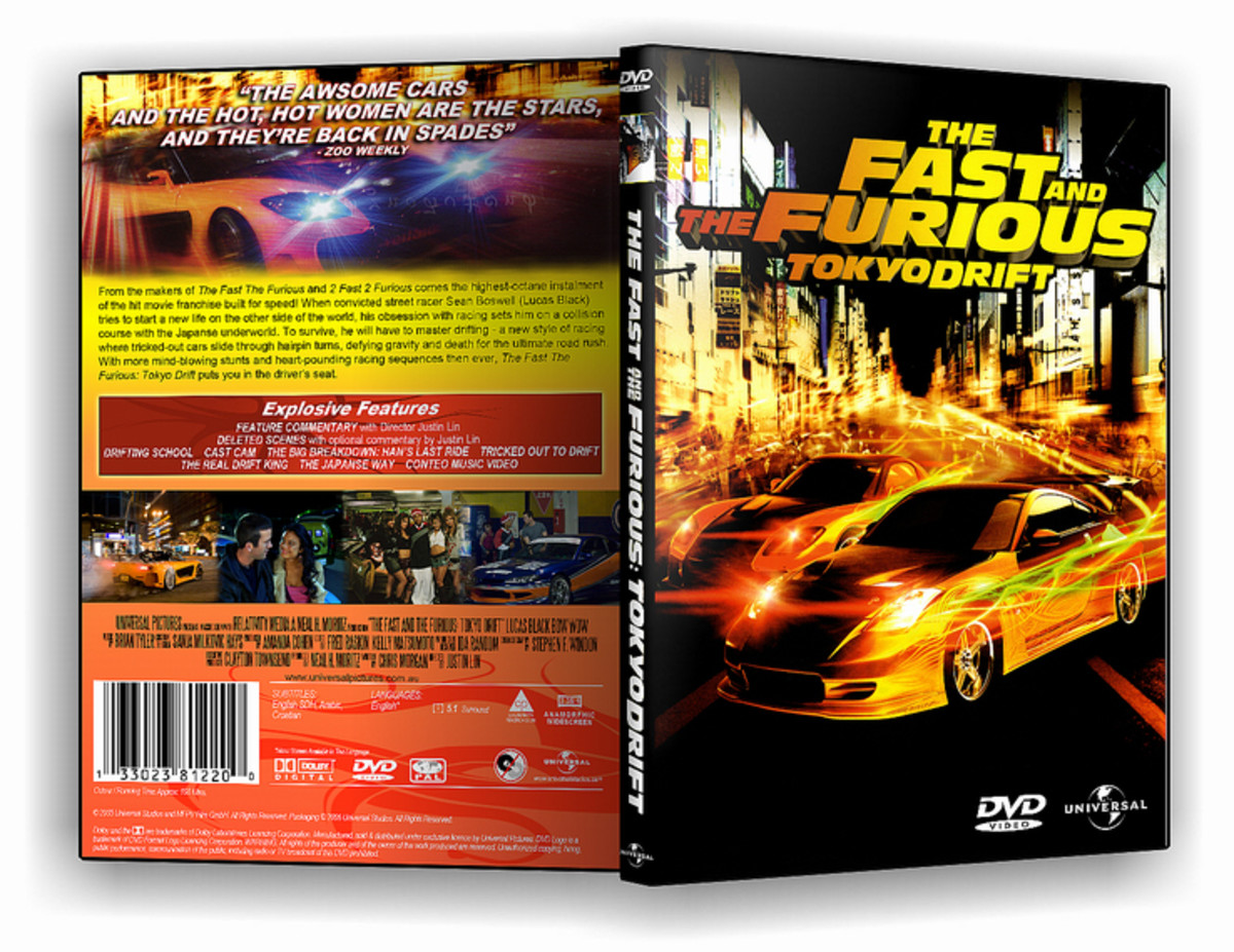 DVD cover (back and front) for the film