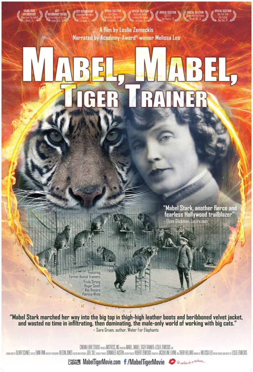 Why Circus Fans and Historians Should See This Documentary: 'Mabel, Mabel, Tiger Trainer'