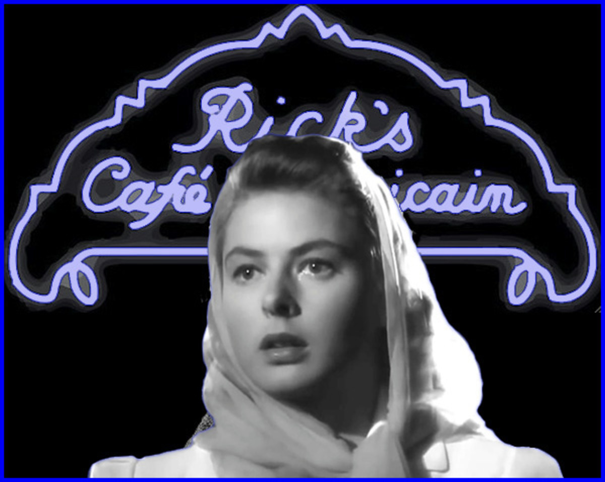The stars of Casablanca played their parts perfectly during the filming.  But what was going on with Humphrey Bogart and Ingrid Bergman when the cameras stopped rolling?