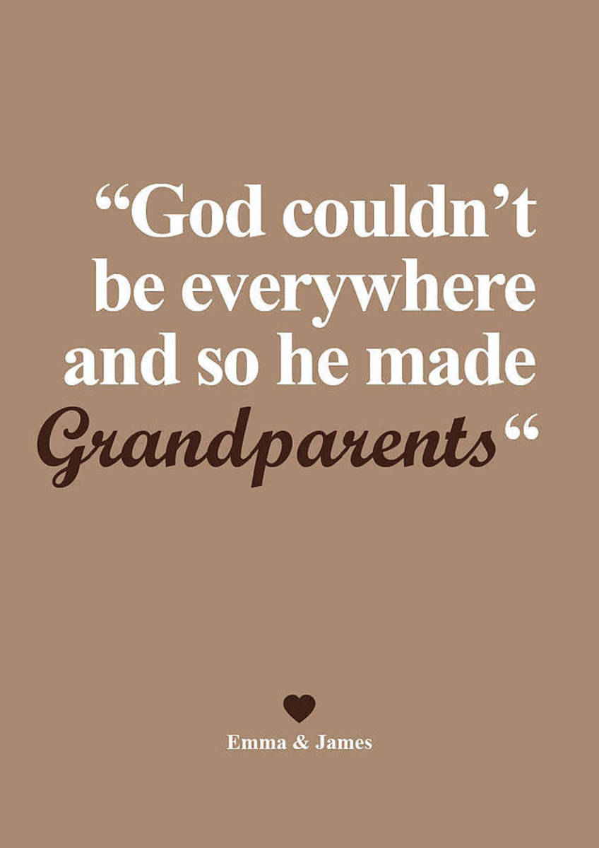 Grandparents: Honoring the Title