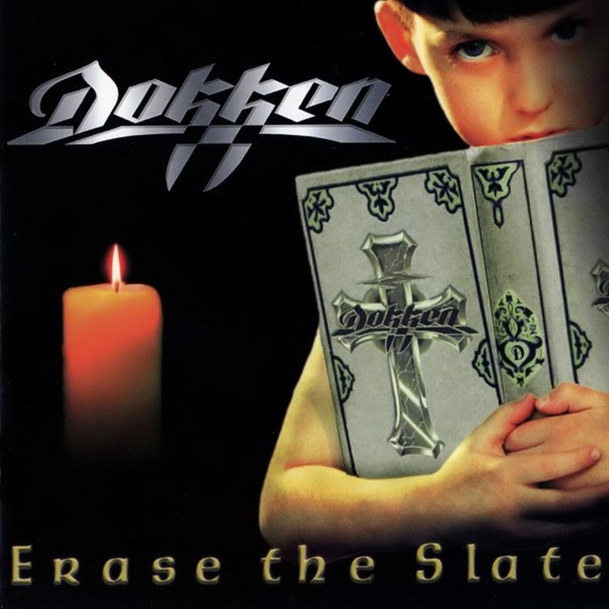 """Dokken """"Erase the Slate"""" cover"""