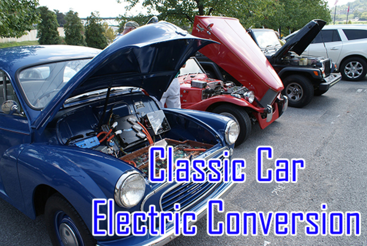 Are We Going to Convert Our Classic Cars to Electric?