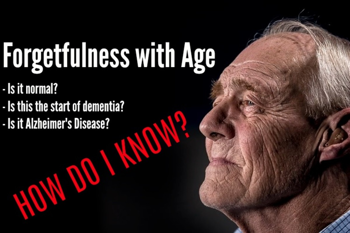 Forgetfulness: Do I Have Dementia or Alzheimer's Disease?