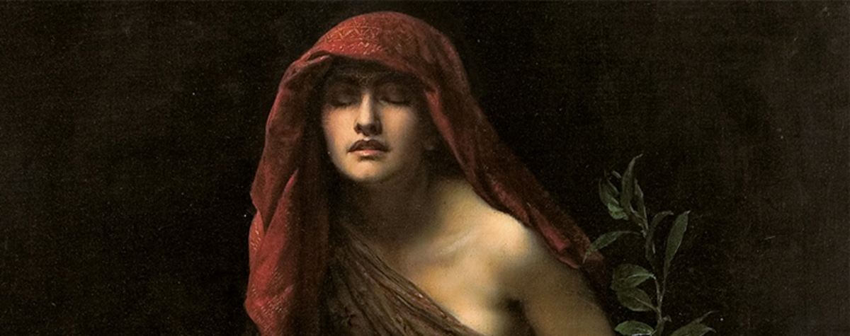 Witches in History and Legend: Pythia - the Mistress of Divination and Necromancy