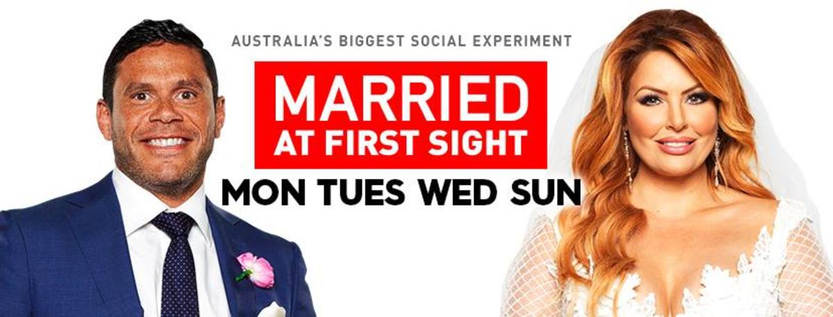 Image from Married at First Sight official Facebook www.facebook.com/MarriedAU/