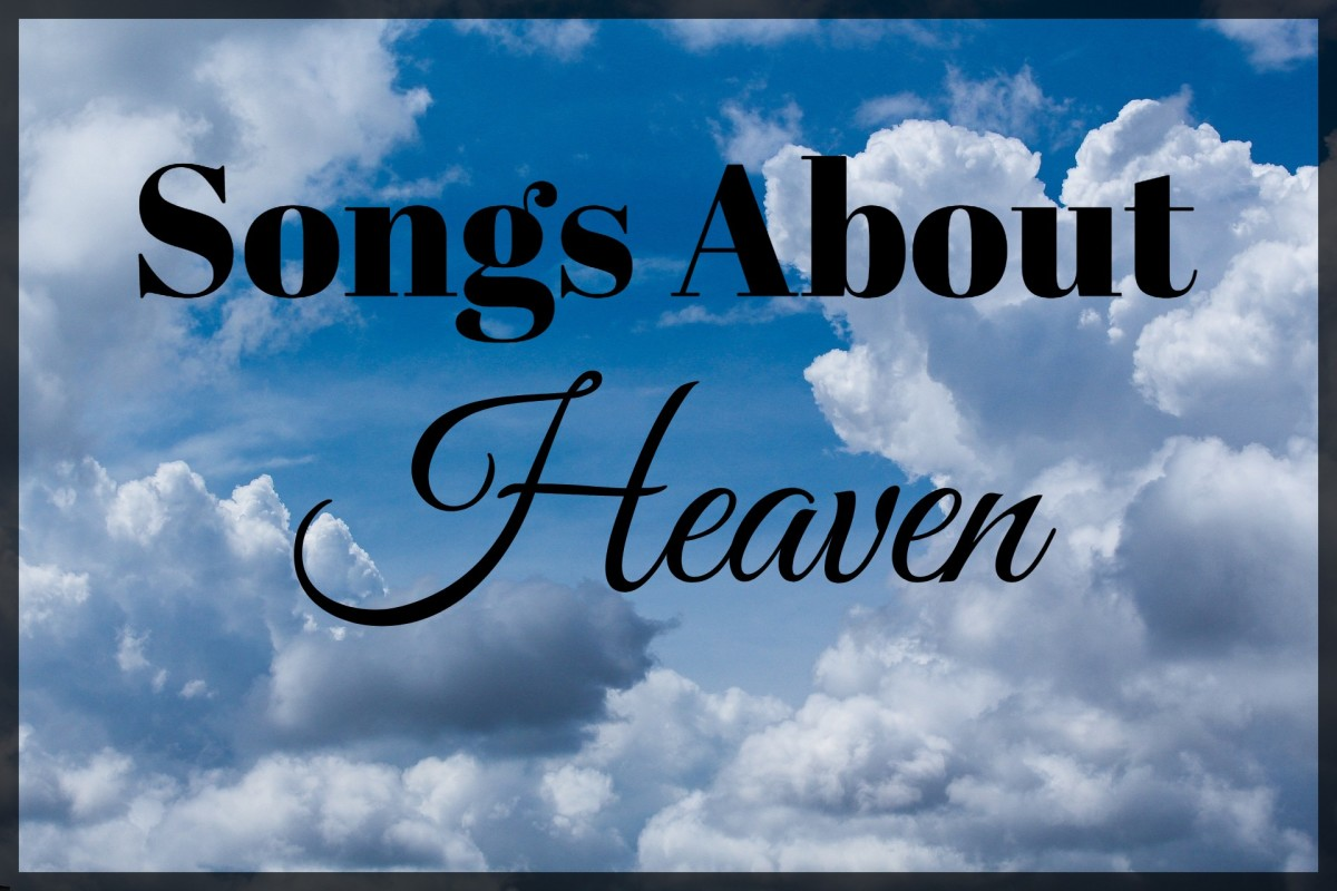 What's your idea of heaven?  Is it a place, a feeling, a spiritual connection, something real or a blissful ideal?  Explore the meaning of heaven through popular music -- pop, rock, country, and R&B songs -- and make a playlist of songs about heaven.