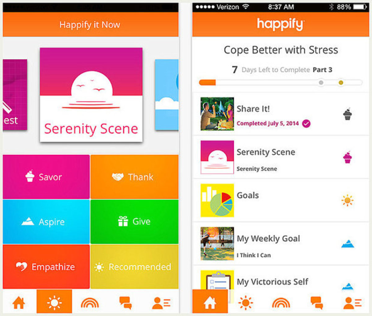Happify App and Website