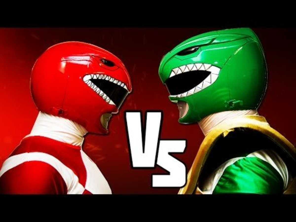 Red Ranger and Green Ranger