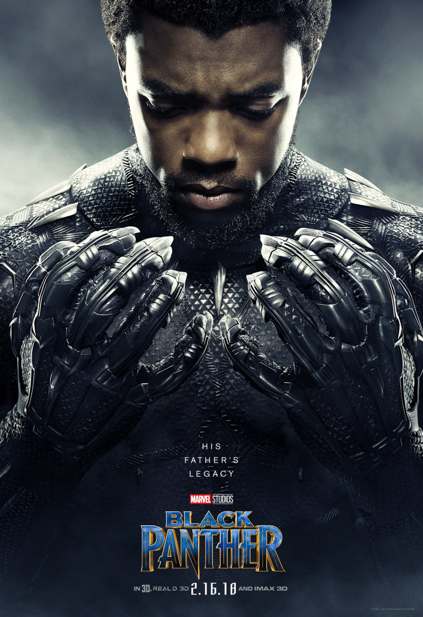 Chadwick Boseman as T'Challa/Black Panther