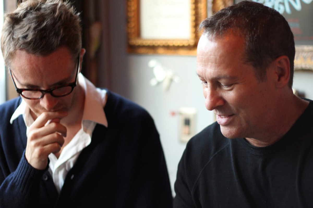 Director Nicholas Winding Refn and composer Cliff Martinez