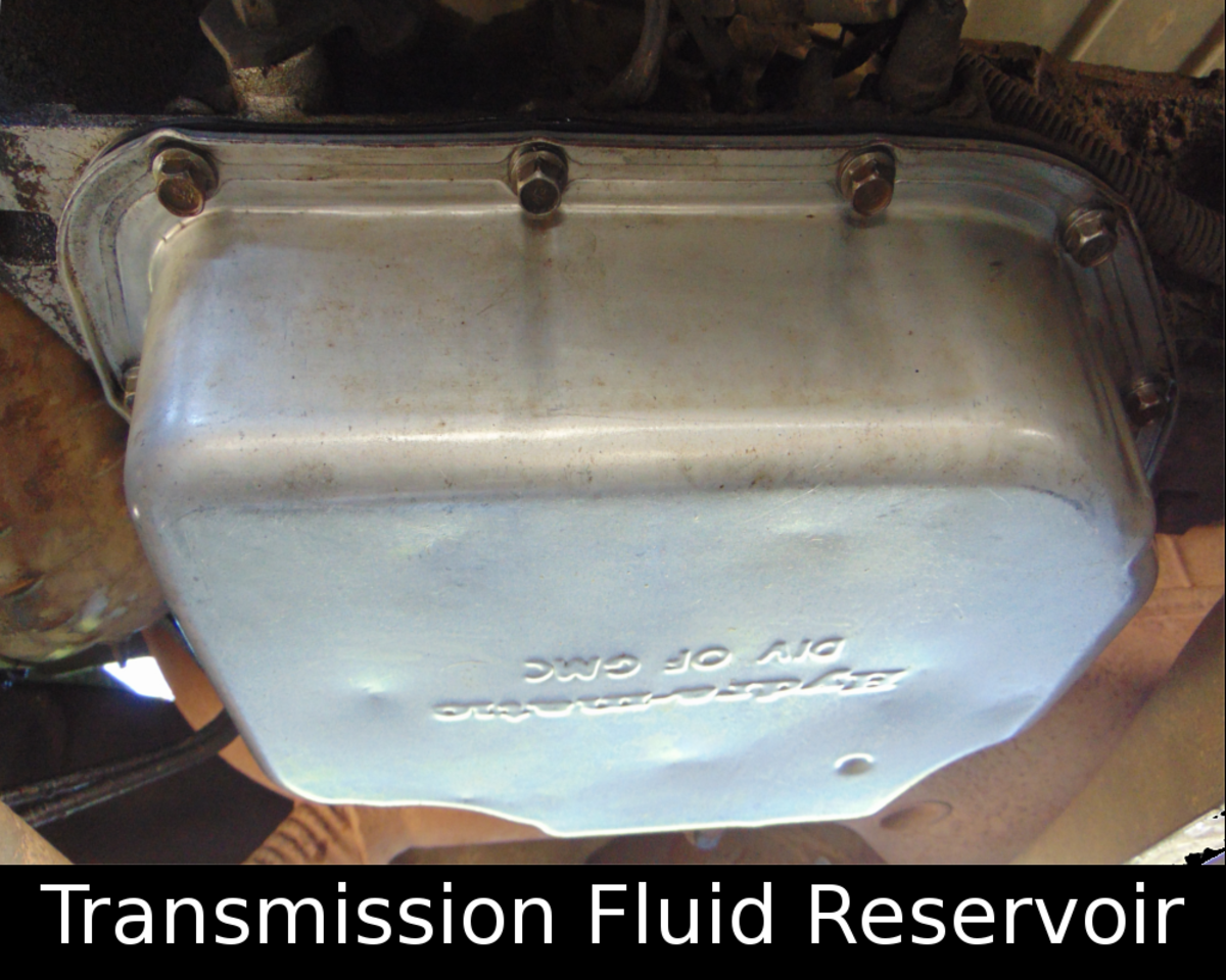 Easy Transmission Fluid Change (Example:  1989 Chevy 3500)