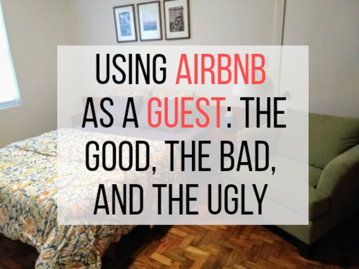 If you want to find out my thoughts on using Air bnb as a guest, please read on...