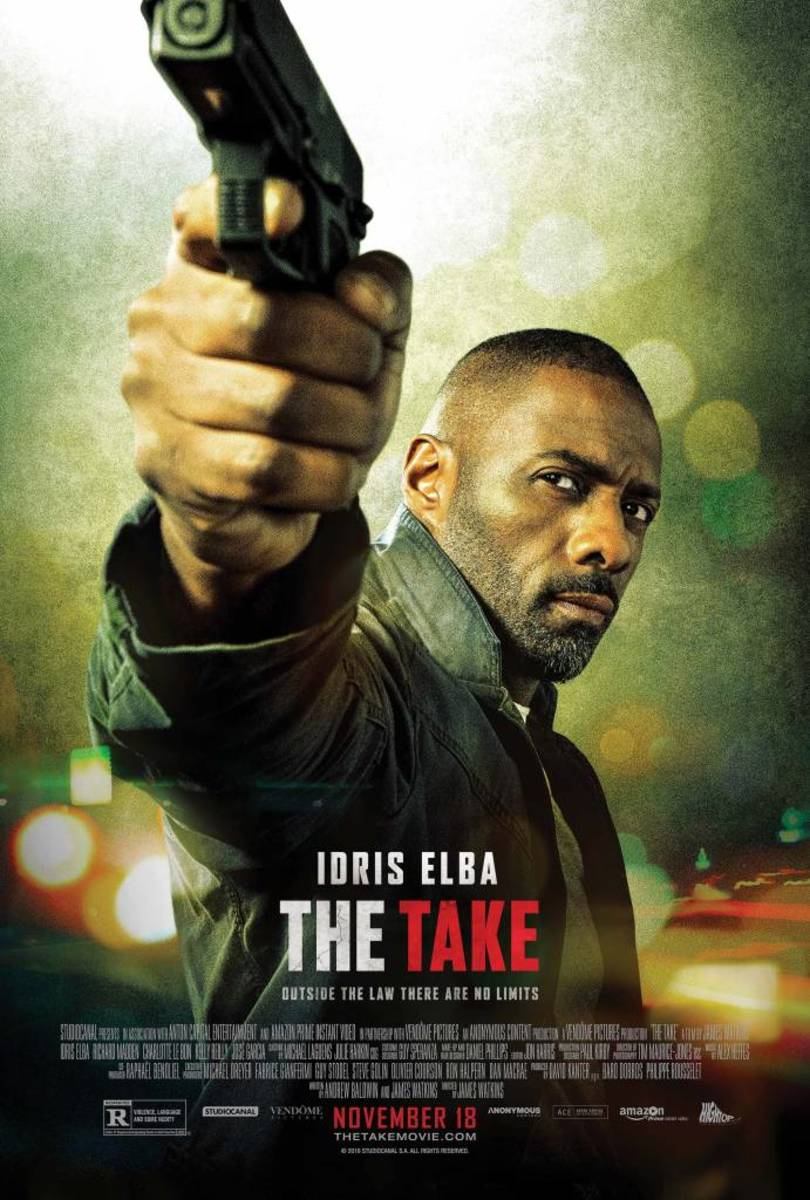 Redesigned poster for the film after the name was changed to 'The Take'.