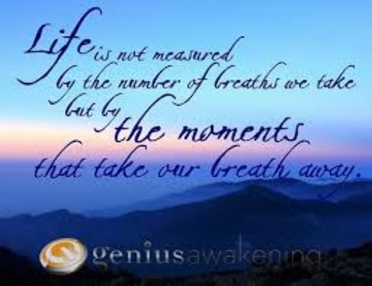 Awakening .... Living LIFE
