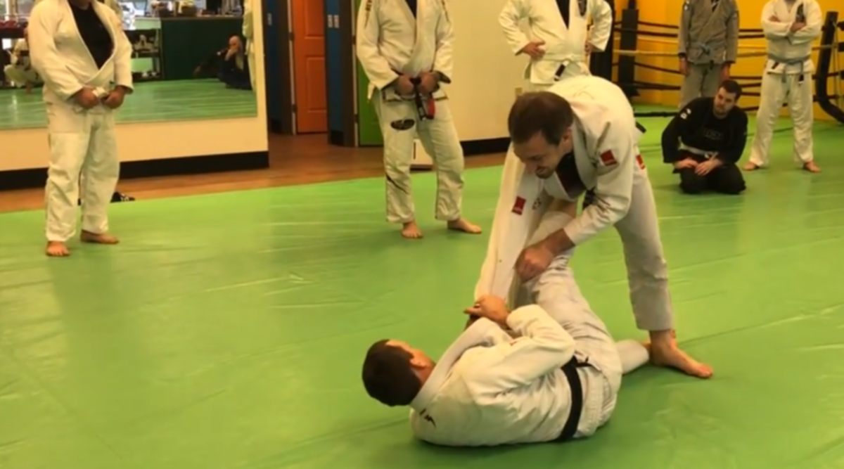 The Sickle Sweep for BJJ