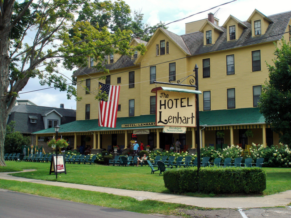 The source of my inspiration for this poem directly comes my experiences here. The Hotel Lenhart overlooks Chautauqua Lake in Bemus Point, NY. The hotel itself is 138 years old. It is a quaint place for creative writing and sparks of imagination.