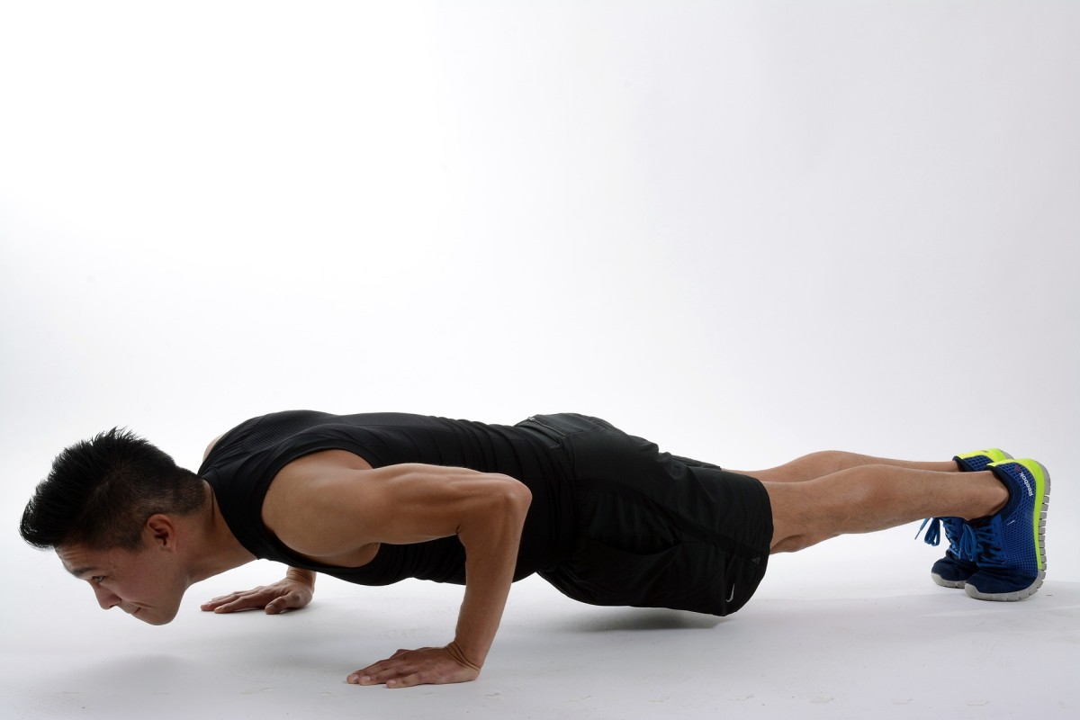 A few sets of push-ups takes almost no time and can easily be added to your day.