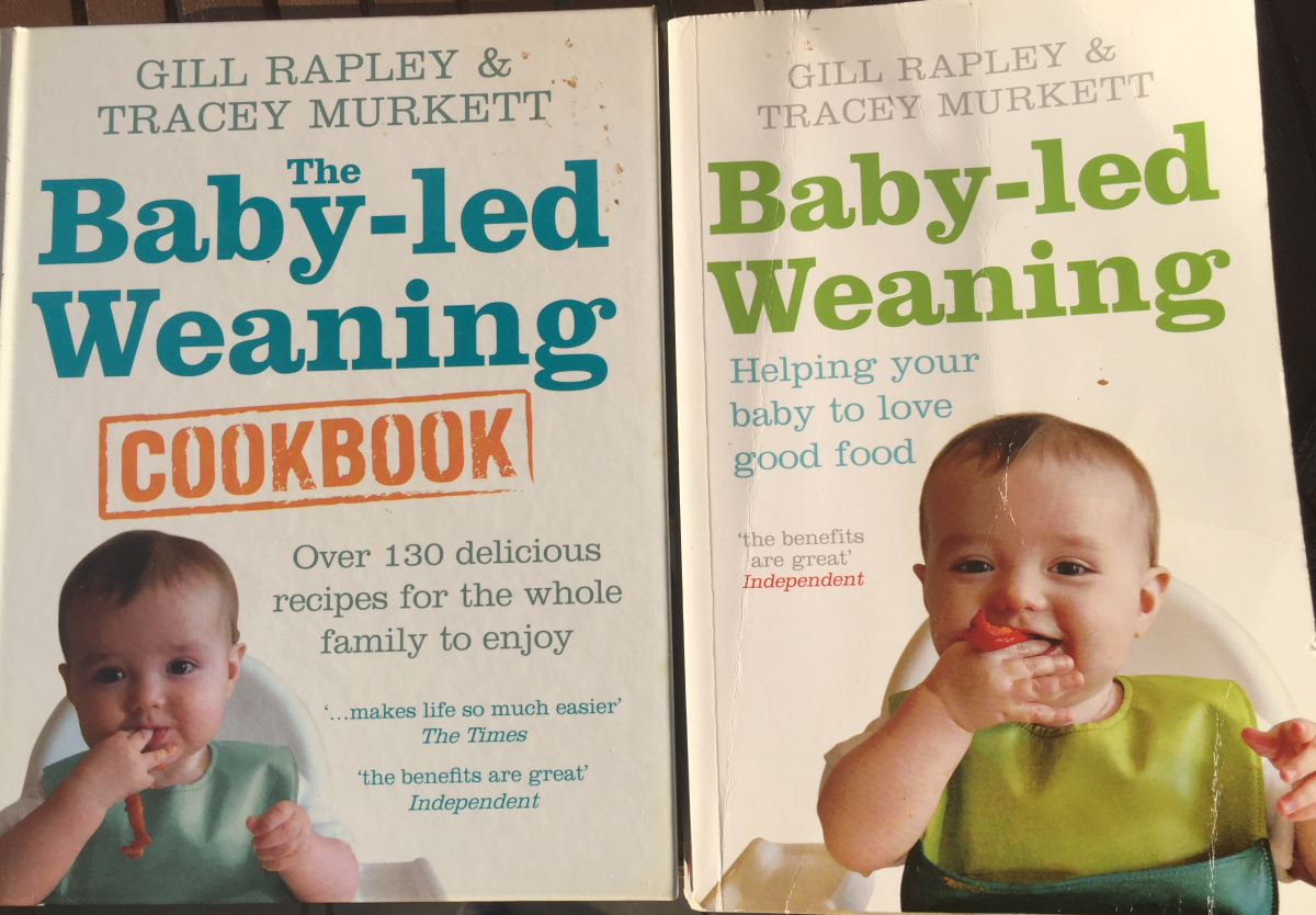 A picture of my very own copies of the books. As you can see, they have both been read, and the cookbook has actually seen some action in the kitchen