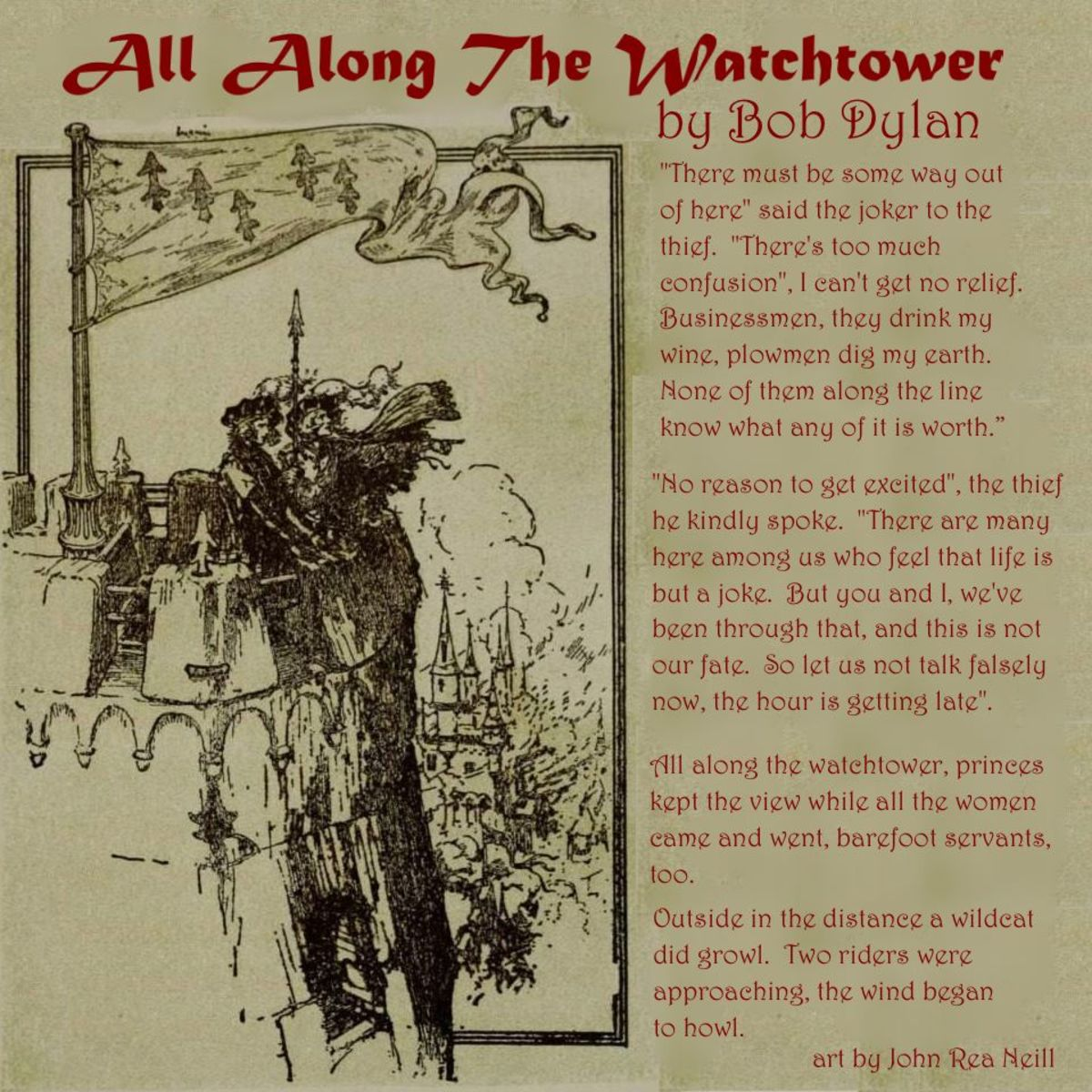 All Along the Watchtower Analysis