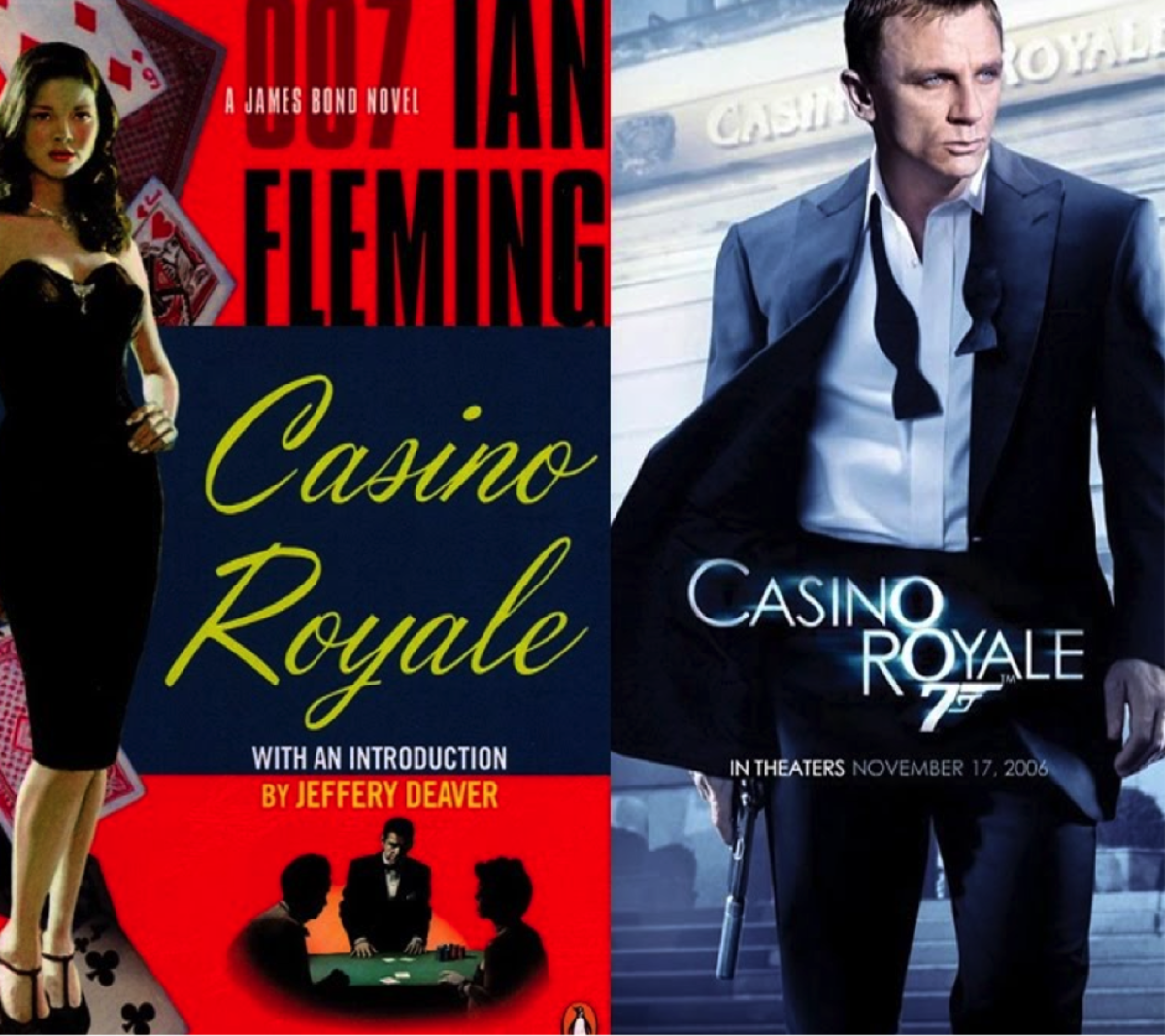 Getting the Big Picture: Ian Fleming's Casino Royal and Its Film Adaptation