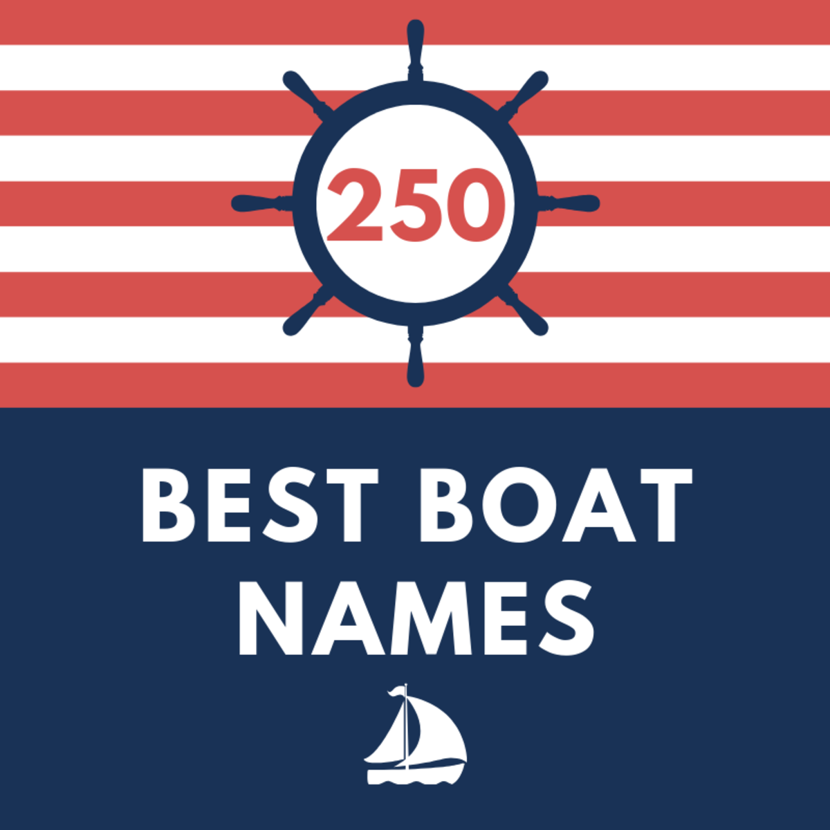 250+ Best Boat Names of All Time